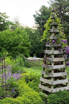 Garden Tools, Planters, Raised Garden Beds +More Garden Yard Ideas, Diy Garden Projects, Lawn And Garden, Garden Beds, Garden Art, Garden Design, Garden Tools, Garden Cottage, Garden Trellis