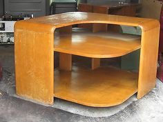 Heywood Wakefield C3960G Corner Table Nice Table | EBay