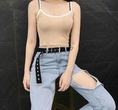 Korean Fashion Trends you can Steal – Designer Fashion Tips Korean Fashion Trends, Asian Fashion, Look Fashion, Girl Fashion, Womens Fashion, Grunge Outfits, Casual Outfits, Cute Outfits, Summer Outfits