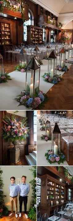 London wedding at Battersea Power Station by MarkNiemierko, photos by Jeremy Enness   via junebugweddings.com
