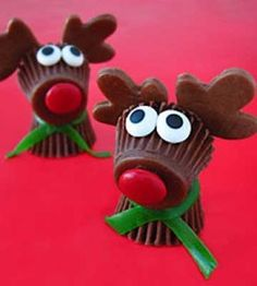 Peanut Butter Cup Reindeer | Christmas Crafts | Holiday | Food Craft — Country Woman Magazine