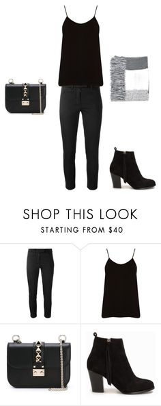"""""""Untitled #233"""" by doda-laban on Polyvore featuring Dondup, Oasis, Valentino, Nly Shoes, Topshop, women's clothing, women's fashion, women, female and woman"""