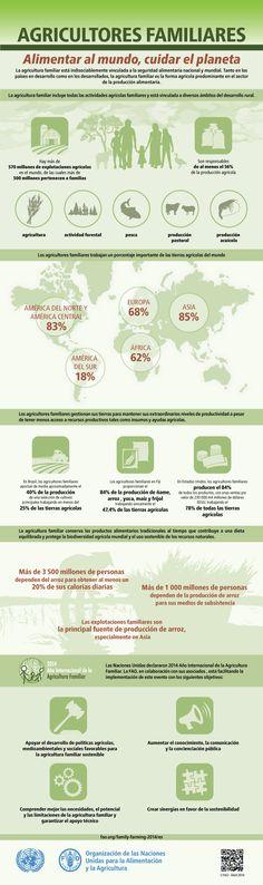 16 de octubre Dia Mundial de la Alimentación. Agricultores familiares: Alimentar al mundo, cuidar el planeta