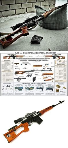 Druganov Sniper Rifle...I'd like to have one of these, well, just because!