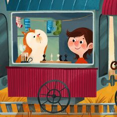 Friends Song by Olga Demidova, via Behance