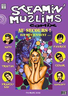 "Catalogue d'exposition // Catalogue d'artiste > Les Musulmans Fumants - ""Steamin Muslims Comix"" - Fev.2012 - 20€"