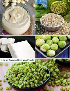 List of Protein Rich Vegetarian Indian Foods | TarlaDalal.com | #221