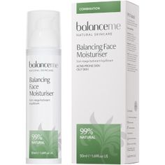 Balance Me Balancing Face Moisturiser 50ml extraordinary scent, long-lasting hydration and light-as-a-feather texture! recommended ;)