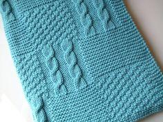 Babydecke Strickanleitung Anfängertauglich Diy Baby Knitting