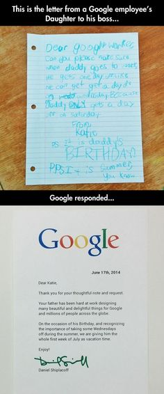 Good Guy Google Boss