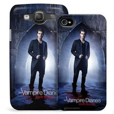 Vampire Diaries Stefan in Doorway Phone Case for iPhone and Galaxy