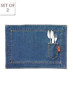 Painel de inspiração Jeans + Decoração | Andrea Velame Blog