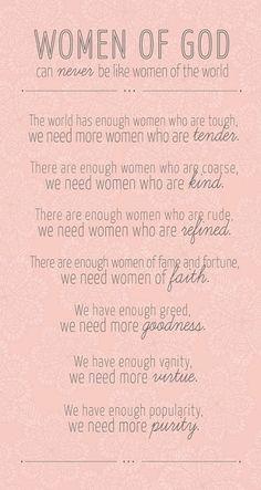 Women of God <3