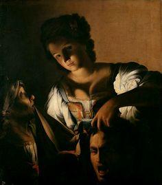 36. Saraceni, Carlo - Giuditta con la testa di Oloferne - Vienna, Kunsthistorisches Museum