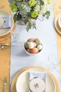 Naturally Inspired Easter Brunch