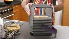 Cookie Keeper: You can use the sheets to cook, cool, and transport cookies...
