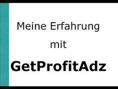 GetProfitAdz Erfahrung #getprofitadz #werbeplattform #advertising #revenueshare #revshareprogramm