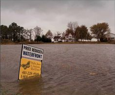 Here's what climate-induced rising seas do to American communities. christopherleo.com, The Passing Scene column