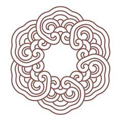 보이안스 한국전통 둥근 격자 문양 디자인 72컷 업데이트. Boians Korean Traditional Round Plaid Symbol…