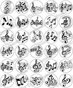 30 x Music Notes Musical Party Edible Rice Wafer Paper Cupcake Toppers Music Tattoo Designs, Music Tattoos, Small Tattoo Designs, Paper Cupcake, Wafer Paper, Music Notes Art, Small Quote Tattoos, Tattoo Quotes, Music Symbols