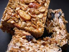 Fried Green Pickles: Tasty Tuesday: Alton Brown's Granola Bars.