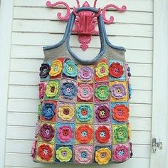 Love this look. Could be done in fabric with fabric flowers.