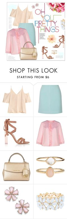 """#layers"" by hellodollface ❤ liked on Polyvore featuring H&M, PALLAS, Gianvito Rossi, Paskal, MICHAEL Michael Kors, Accessorize, Charlotte Russe and layers"