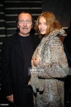 Natalia Vodianova and Paolo Roversi attend PAOLO ROVERSI Celebrates His New Book STUDIO at Bergdorf Goodman on February 9, 2006 in New York City.