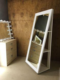 Купить Зеркало напольное NEWFANGLED.180.70 - зеркало, зеркало в интерьере, зеркало с полками