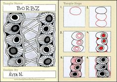 Borbz by Ruth T  -    I love this one!  I think there are so many variations that you can use it in just about any theme or mood of your drawing