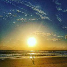 Everyday I'm Shuffling.  #morning #morningwalk #walking #shuffling #seascape #sea #surf #sunrise #sunporn #skyporn #ocean #seaside #queensland #australia #goldcoast #goldcoastlife #surfersparadisebeach #thisisaustralia #thisisqueensland #explorequeensland  #broadbeach #exploregoldcoast by shane_trimby http://ift.tt/1PI0tin