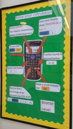 Resources and ideas for mathematics classroom displays Classroom Displays Secondary, Teaching Secondary, Secondary Math, Teaching Displays, Class Displays, School Displays, Teaching Ideas, Numeracy Display, Science Display