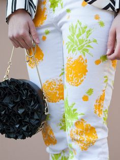 pineapple stencil fabric print prints sewing diy read pineapples