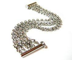 Multi Strands Crystal Chain Bracelet Swarovski