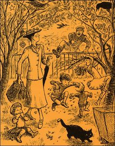 Mary Poppins from A to Z by P.L. Travers - Art by Mary Shepard