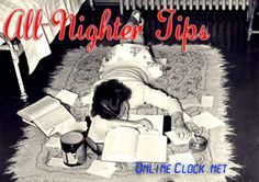 OnlineClock's All-Nighter Tips