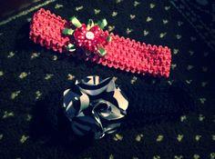 Baby girl headbands! Super easy!