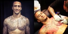 Colin Kaepernick's impressive new chest tattoo | OCNN