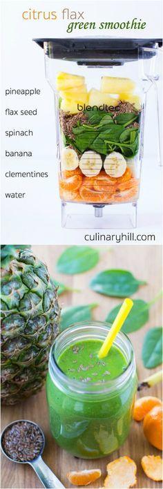 CItrus Flax Green Sm
