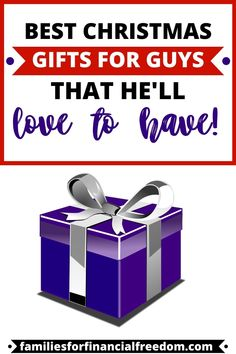 You favorite guy will love these 20  fun and unique Christmas gifts for men! Get ideas for Christmas gifts on a budget! Find cheap Christmas gift ideas for guys! Get the best inexpensive Christmas gifts for men and dads! Awesome list of Christmas gifts to buy for men! Get ideas for the best Christmas gifts for boyfriends, husbands, and men! #christmas #christmasgifts #christmasgiftideas #christmaspresents #christmasprintables #holiday #budget #frugal #money Christmas Gifts For Boyfriend, Best Christmas Gifts, Boyfriend Gifts, Christmas Fun, Xmas Gifts, Inexpensive Christmas Gifts, Christmas On A Budget, Best Money Saving Tips, Money Tips