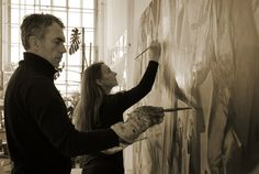 Neo Rauch & Rosa Loy courtesy of Uwe Walter, Berlin