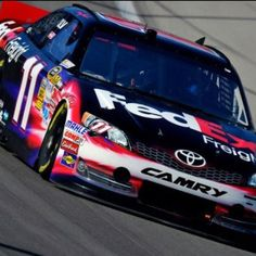 Denny Hamlin-My pick for winning the Cup this year! Love him