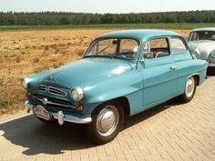 Small berlines of the 1950s. Skoda 445.