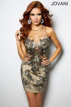 Style 21806  http://www.jovani.com/short-dresses-cocktail-dresses/beaded-sleeveless-short-dress-21806