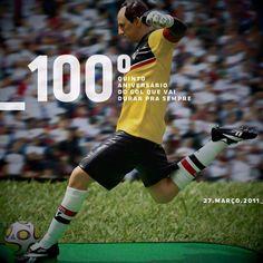100º Gol - 5º aniversário (via Rogério Ceni e Página Oficial SPFC ambas no Facebook)