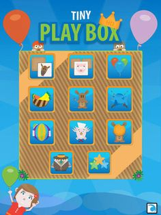 Tiny Play Box HD   Ten Fun and Simple Educational Activities for Kids by Approviders ltd   Review and Giveaway