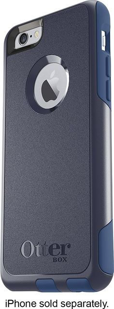 Otterbox - Commuter Case for Apple® iPhone® 6 Plus - Ink blue