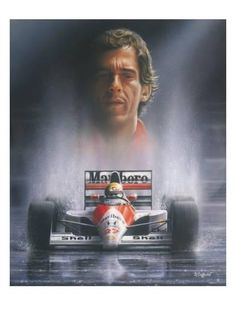 size: Stretched Canvas Print: The Hero by Stuart Coffield : Using advanced technology, we print the image directly onto canvas, stretch it onto support bars, and finish it with hand-painted edges and a protective coating. Formula 1 Autos, Formula 1 Car, F1 Wallpaper Hd, Wallpapers, Parkour, Hero Poster, Gilles Villeneuve, Pinterest Photos, Sports Art
