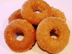 Maple Cinnamon Mini Donuts