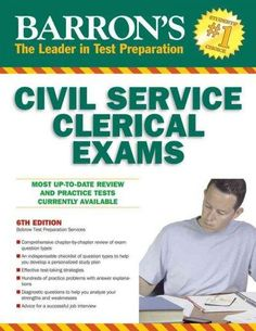 Barron's Civil Service Clerical Exams